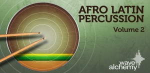 Afro latin percussion Vol2 banner