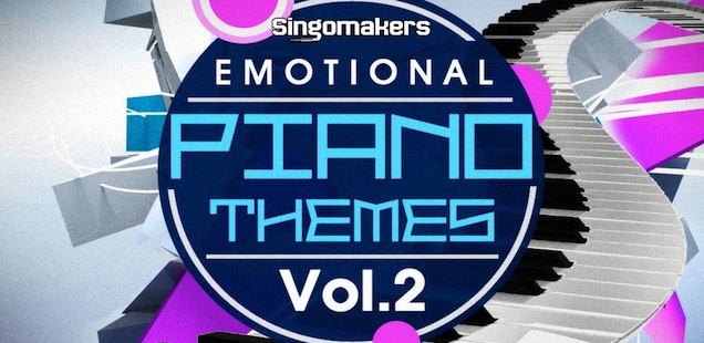 Emotional Piano Themes Vol. 2 MIDI & Sample Library