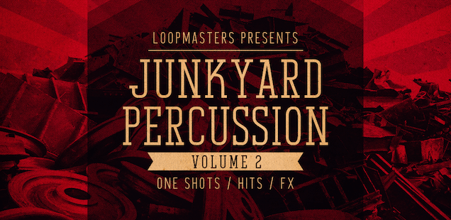 Junkyard Percussion Vol. 2 Sample Library - Free Samples