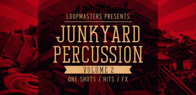 Junkyard Percussion Vol. 2 Sample Library - Free Samples